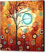 Surrounded By Love By Madart Canvas Print by Megan Duncanson