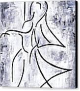 Swan Lake Canvas Print by Kamil Swiatek