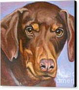 Sweetest Rescue Canvas Print by Susan A Becker