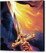 Sword Of The Spirit Canvas Print by Jeff Haynie