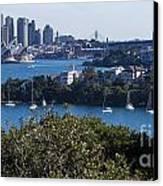 Sydney Harbour Canvas Print by Steven Ralser
