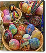 Symbols Of Easter- Spiritual And Secular Canvas Print by Gary Holmes