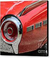 T-bird Tail Canvas Print by Dennis Hedberg