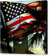 Take Back America Canvas Print by Beverly Guilliams