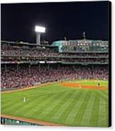 Take Me Out To The Ballgame Canvas Print by Juergen Roth