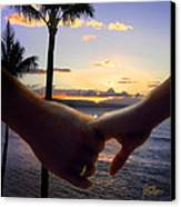 Take My Hand Canvas Print by Doug Kreuger