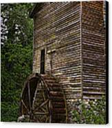 Tall Mill Canvas Print by Dave Bosse