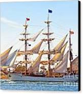 Tall Ship Canvas Print by Bill  Robinson