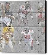Tampa Bay Buccaneers Legends Canvas Print by Joe Hamilton