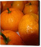 Tangerines 01 Canvas Print by Brian Gilna