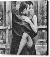 Tango Canvas Print by Ayse Deniz