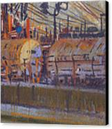 Tanker Fill Point Canvas Print by Donald Maier