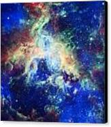 Tarantula Nebula 4 Canvas Print by The  Vault - Jennifer Rondinelli Reilly