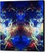 Tarantula Nebula Reflection Canvas Print by The  Vault - Jennifer Rondinelli Reilly
