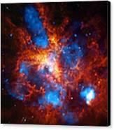 Tarantula Nebula Canvas Print by The  Vault - Jennifer Rondinelli Reilly
