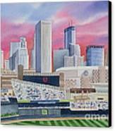 Target Field Canvas Print by Deborah Ronglien