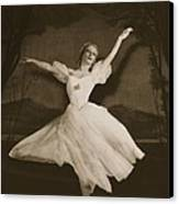 Tatiana Riabouchinska In Les Sylphides Canvas Print by French Photographer