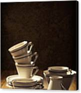 Teacups Canvas Print by Amanda And Christopher Elwell