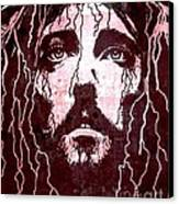 Tears Of Jesus Canvas Print by Mike Grubb