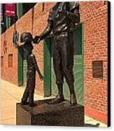 Ted Williams Canvas Print by Paul Mangold