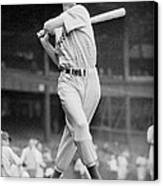 Ted Williams Swing Canvas Print by Gianfranco Weiss