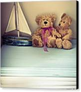 Teddy Bears Canvas Print by Jan Bickerton