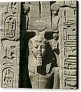 Temple Of Nefertari Dedicated Canvas Print by Everett