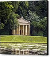 Temple Of Piety Canvas Print by Chris Smith