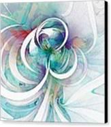 Tendrils 03 Canvas Print by Amanda Moore