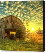 Tennesee Sunrise Canvas Print by  Caleb McGinn