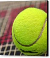 Tennis Anyone... Canvas Print by Kaye Menner