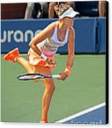 Tennis Star Laura Robson Canvas Print by Harold Bonacquist