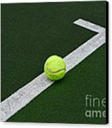 Tennis - The Baseline Canvas Print by Paul Ward