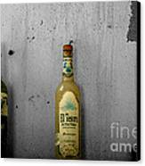 Tequila And Vino Tinto Canvas Print by Cheryl Young