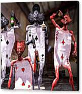 Terrible Twos Or Deuces Wild  Canvas Print by Bob Orsillo