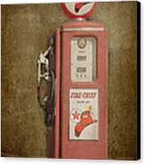 Texaco Fire Chief Canvas Print by Bob and Nancy Kendrick