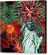 The 4th Of July Canvas Print by Anthony Sacco