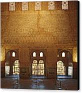 The Alhambra King Room Canvas Print by Guido Montanes Castillo