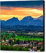 The Alps 01 Canvas Print by Tom Uhlenberg