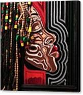 The Amazing Sista Canvas Print by SBrian Morgan