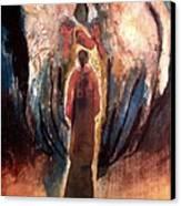 the Announciation Canvas Print by Daniel Bonnell