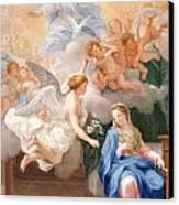 The Annunciation Canvas Print by Giovanni Odazzi