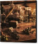 The Apothecary Canvas Print by Priscilla Burgers