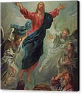 The Ascension Canvas Print by Jean Francois de Troy