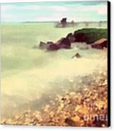 The Balaton Shore Canvas Print by Odon Czintos