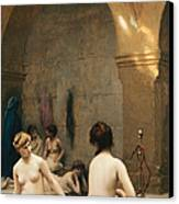 The Bathers Canvas Print by Jean Leon Gerome