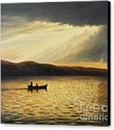 The Bay Of Silence Canvas Print by Kiril Stanchev
