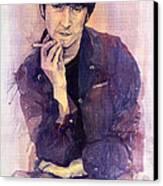 The Beatles John Lennon Canvas Print by Yuriy  Shevchuk