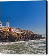The Beauty Of Nubble Canvas Print by Joann Vitali
