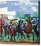 The Bets Are On Again Canvas Print by Anthony Falbo